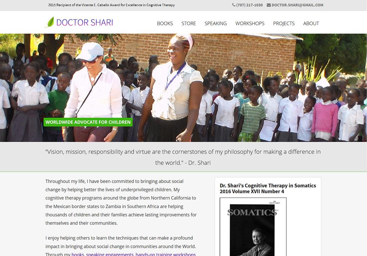 Dr. Shari Website